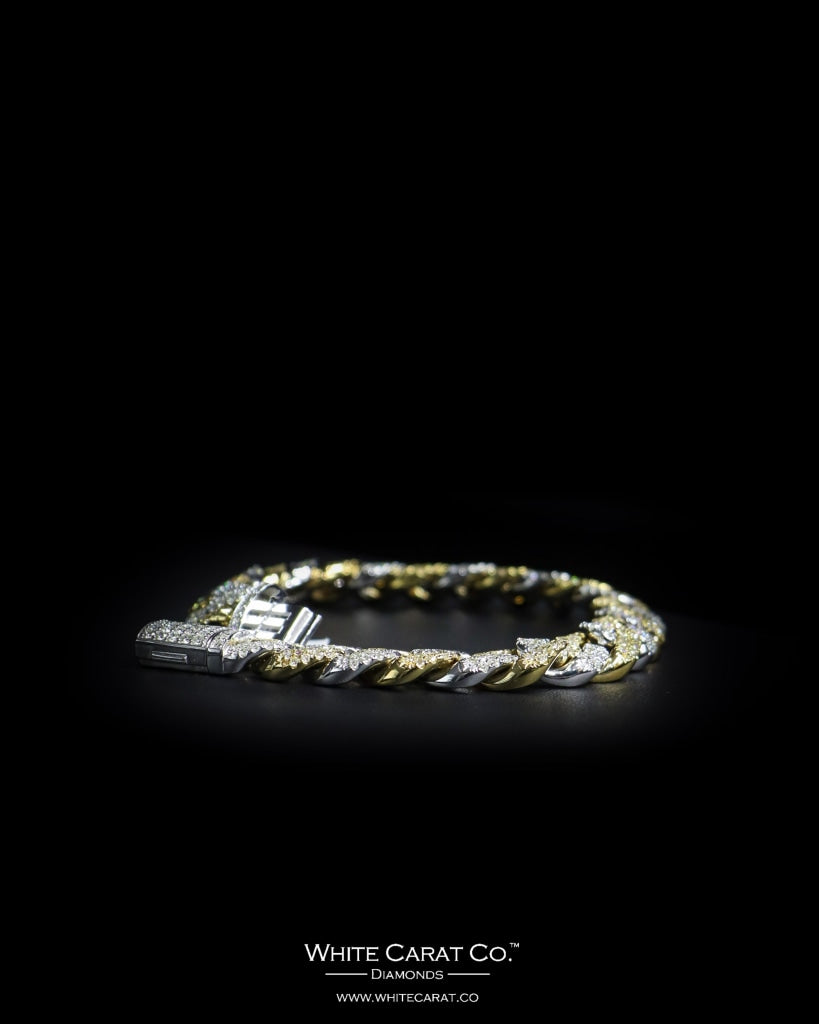 6.55 CT. Ladies' Diamond Bracelet in 14K Gold - White Carat - USA & Canada