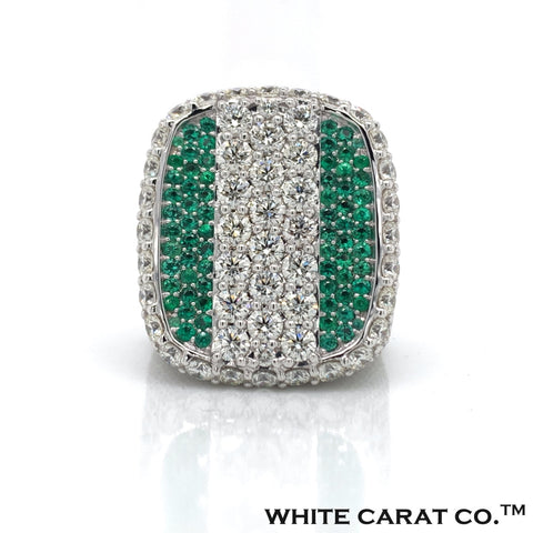 13 CT. Diamond 10KT Gold Ring - White Carat Diamonds