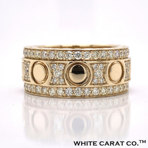 1.50 CT. Diamond Signature Band 10KT Gold - White Carat Diamonds