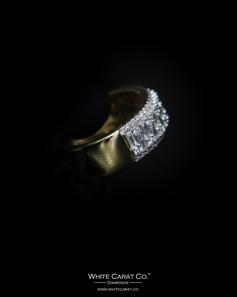1.25 CT. Exclusive Diamond Men's Ring in 14K Gold