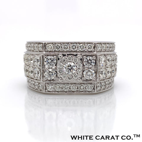 4.00 CT. VVS Diamond 14K Gold Ring - White Carat Diamonds