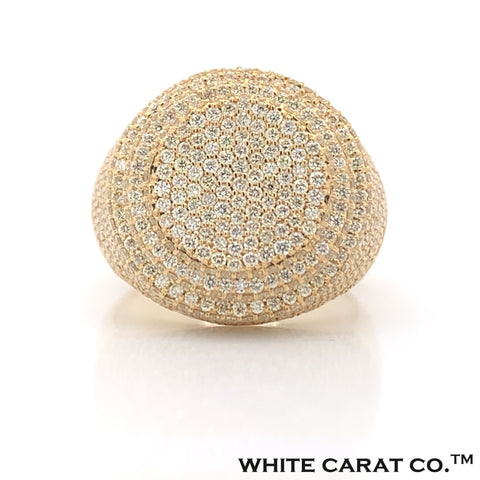 4.50 CT. Diamond Ring 10KT Gold - White Carat Diamonds
