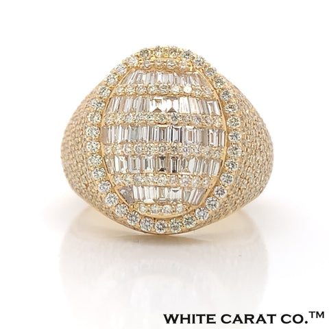 3.75 CT. Diamond Ring 10KT Gold - White Carat Diamonds