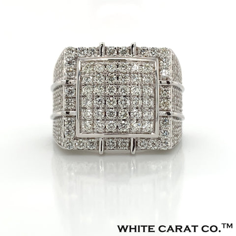 3.50 CT. Diamond 14K Gold Ring - White Carat Diamonds