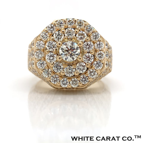 6.00 CT. Diamond 14K Gold Ring - White Carat Diamonds