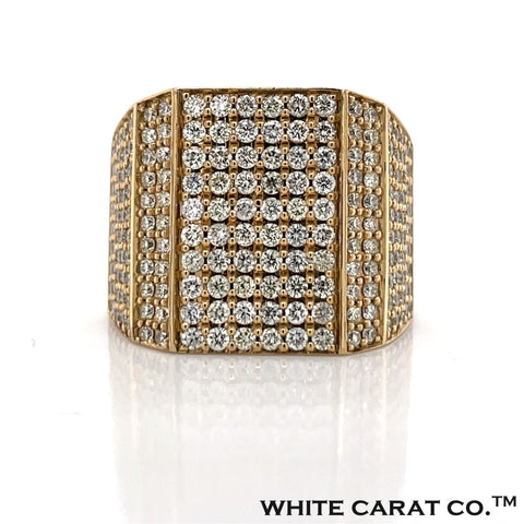 3.00 CT. Diamond Ring 10KT Gold - White Carat Diamonds