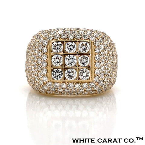 4.50 CT. Diamond 14K Gold Ring - White Carat Diamonds