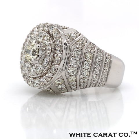 6.00 CT. Diamond 14K White Gold Ring - White Carat Diamonds