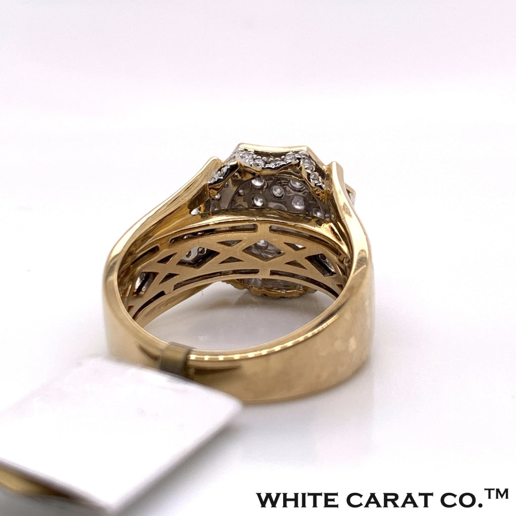 1.72CT Diamond Ring in 10K Gold