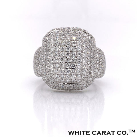 7.50 CT. Diamond 10K Gold Ring - White Carat Diamonds