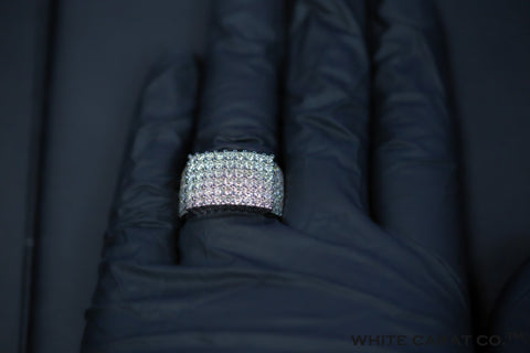 4.00 CT. Diamond Ring in 10K Gold - White Carat Diamonds