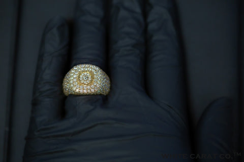 6.00 CT. Diamond Ring in 10K Gold - White Carat Diamonds
