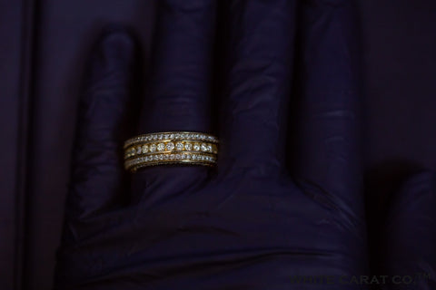 4.00 CT. Diamond 10K Gold Ring - White Carat Diamonds