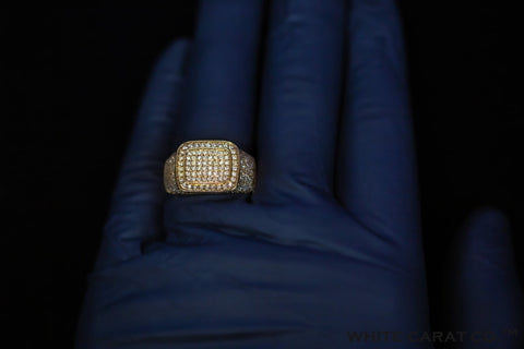 1.76 CT. Diamond Ring in 10K Gold - White Carat Diamonds