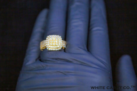 1.91 CT. Diamond Ring in 10K Gold - White Carat Diamonds