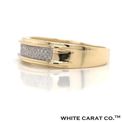 0.12 CT. Diamond Ring in Gold - White Carat - USA & Canada