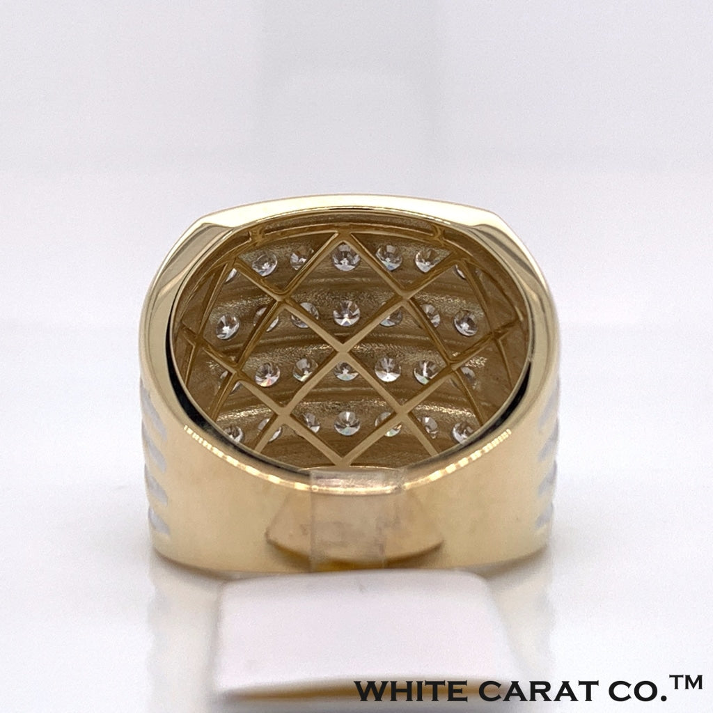 1.50CT Diamond 10K Yellow Gold Ring - White Carat Diamonds