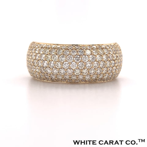 2.50 CT. Diamond Bubble Band in Gold - White Carat - USA & Canada