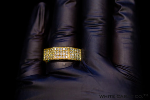 3.20 CT. Diamond Ring 10KT Gold - White Carat Diamonds
