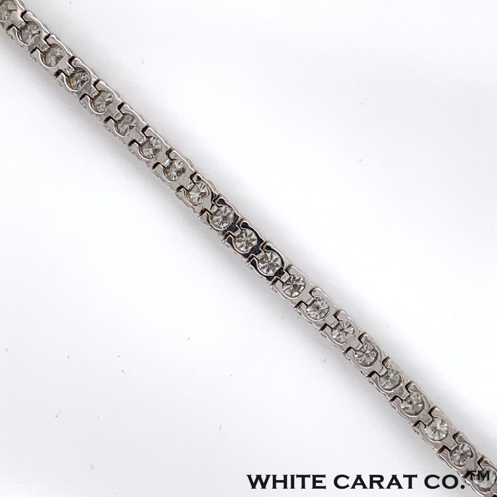 2.00 CT. Diamond Tennis Bracelet in 14K White Gold - White Carat Diamonds