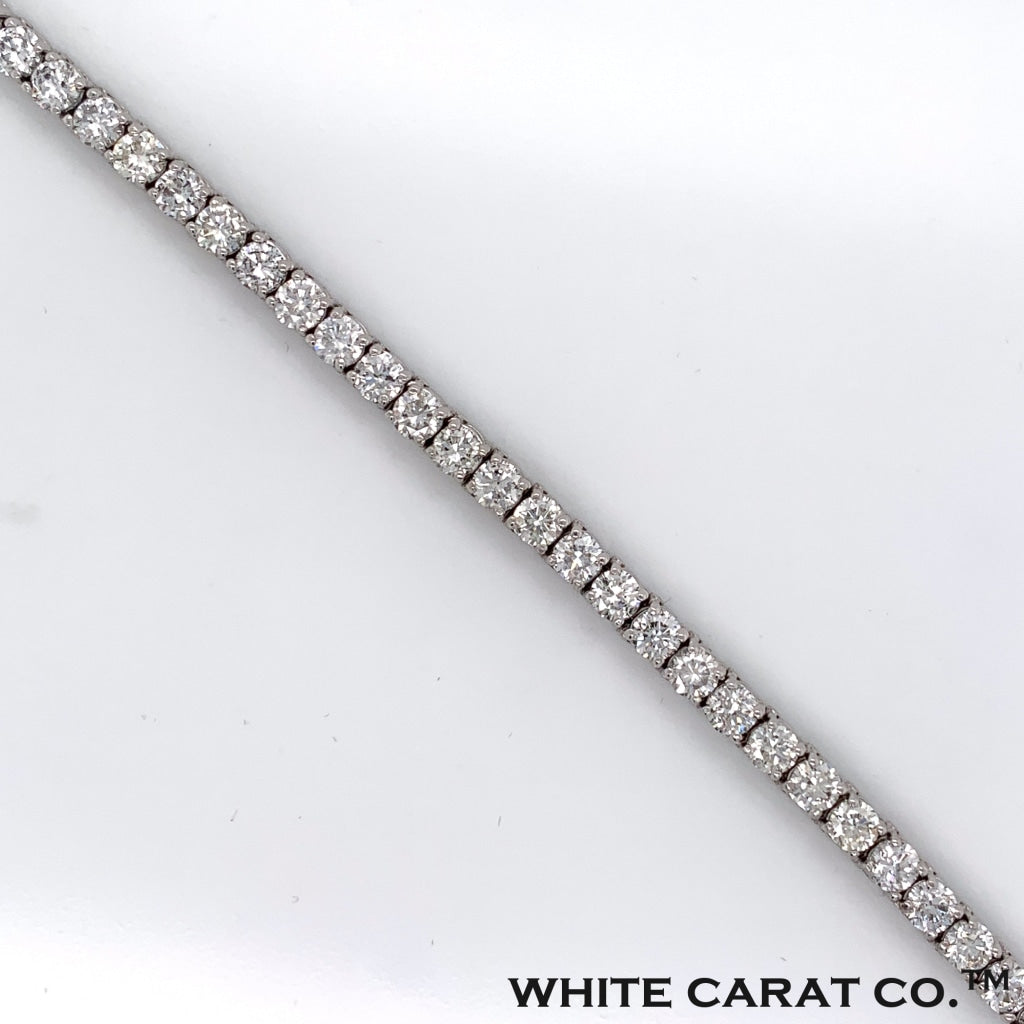 1.75CT Diamond Tennis Bracelet in 14K White Gold - White Carat Diamonds