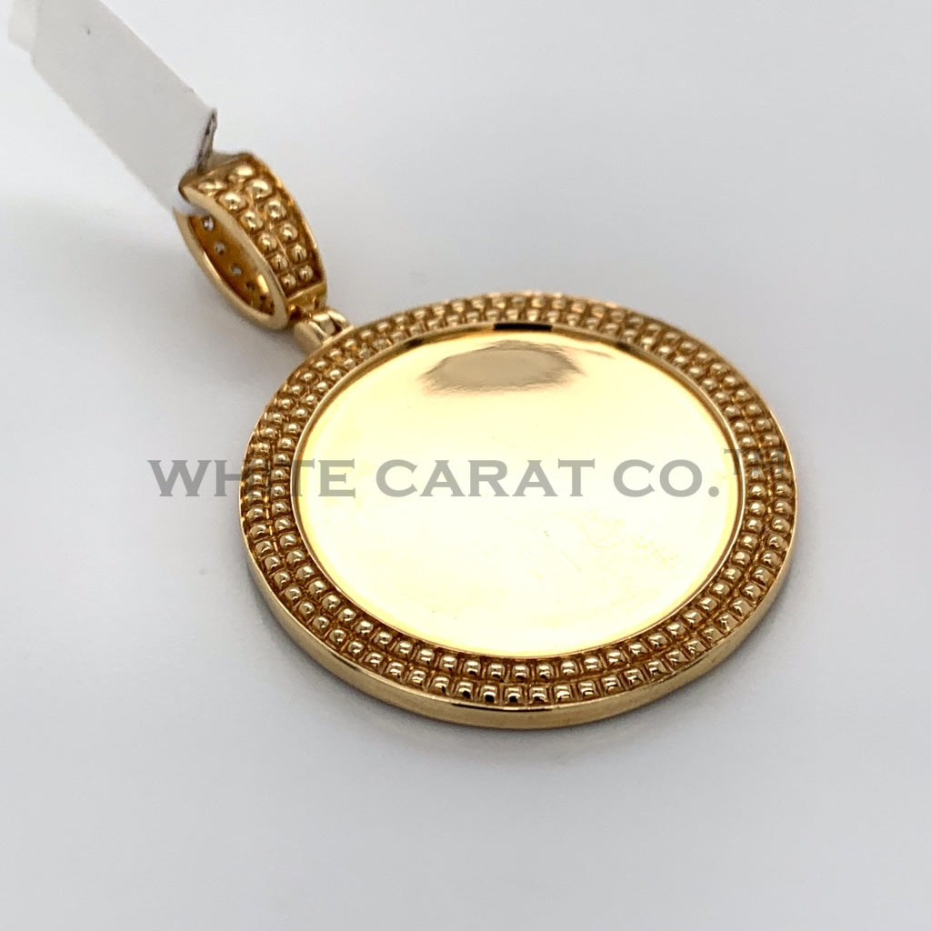 2.00CT Diamond Memory Pendant in 14K Gold - White Carat Diamonds