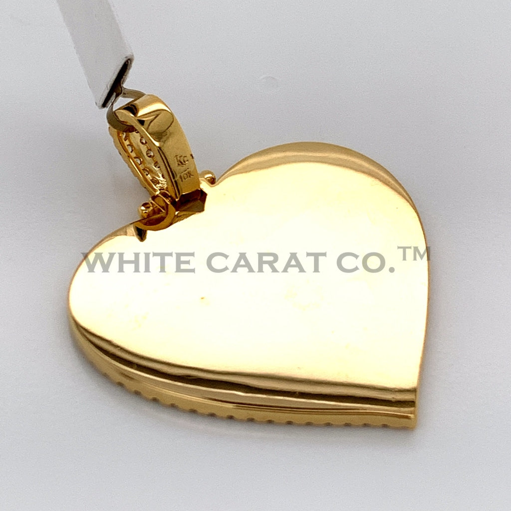 0.90CT Diamond Memory Pendant in 10K Gold - White Carat Diamonds