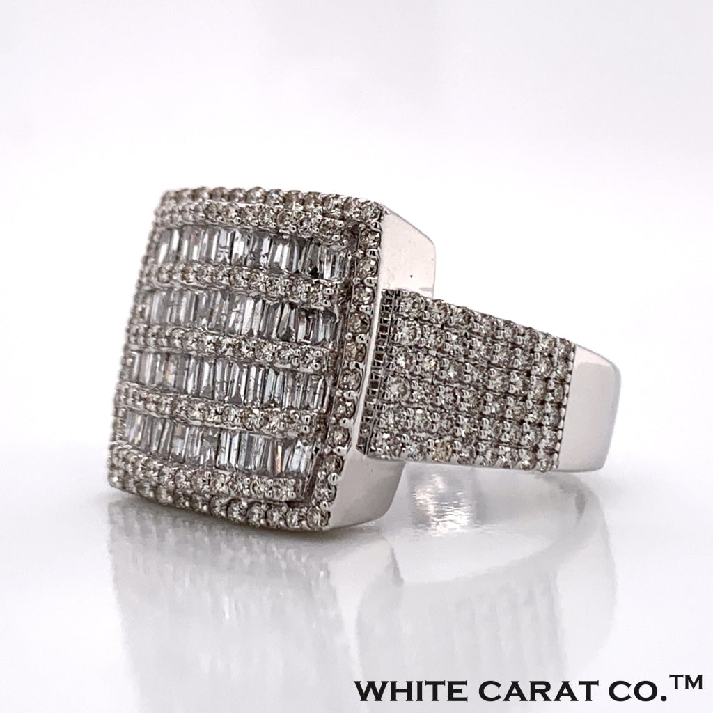 2.02CT Diamond 14K White Gold Ring - White Carat Diamonds