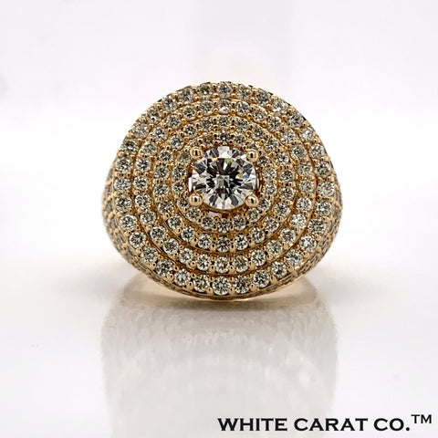 4.70CT Diamond 14K Gold Ring - White Carat Diamonds