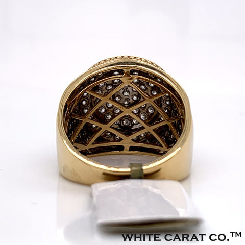 1.90CT Diamond 10K Gold Ring - White Carat Diamonds