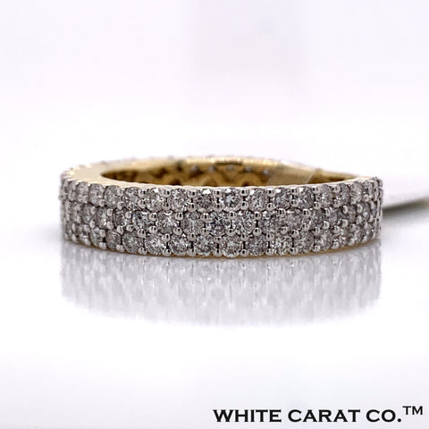 2.04CT Diamond 10K Gold Ring - White Carat Diamonds