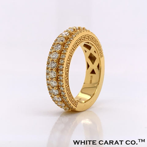 2.23CT Diamond 10K Gold Ring - White Carat Diamonds