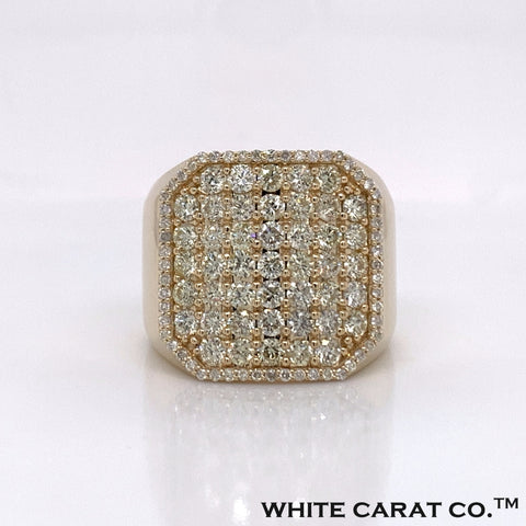 Diamond 10K Gold Ring (NOT YET PRICED) - White Carat Diamonds