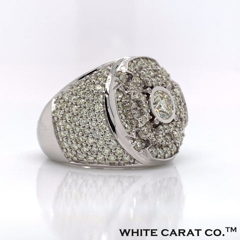 Diamond 10K White Gold Ring (NOT YET PRICED) - White Carat Diamonds