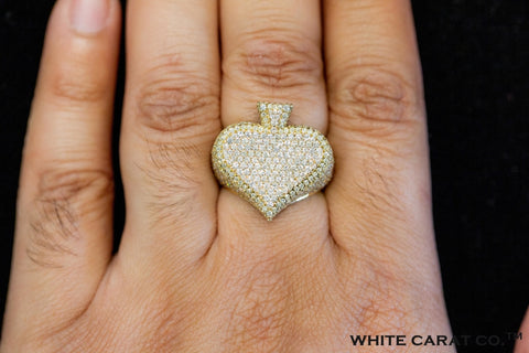 4.50 CT. Diamond Spade Ring in Gold - White Carat - USA & Canada