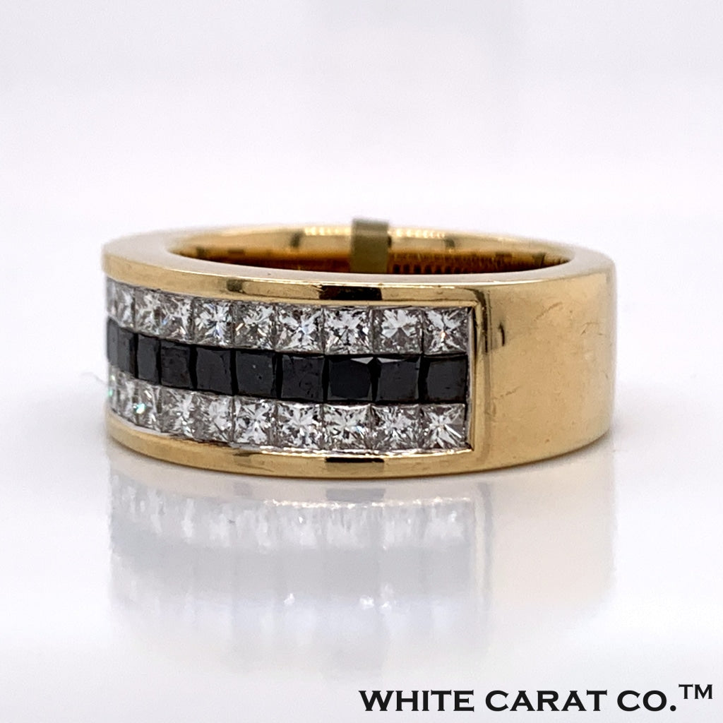 3.45CT Diamond 10K Gold Ring - White Carat Diamonds