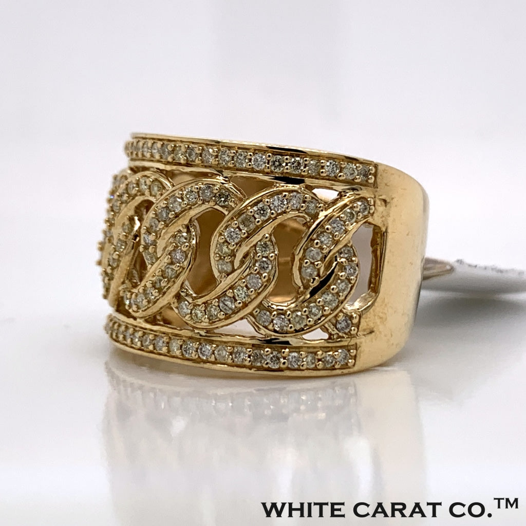 1.25CT Diamond 10K Gold Ring - White Carat Diamonds
