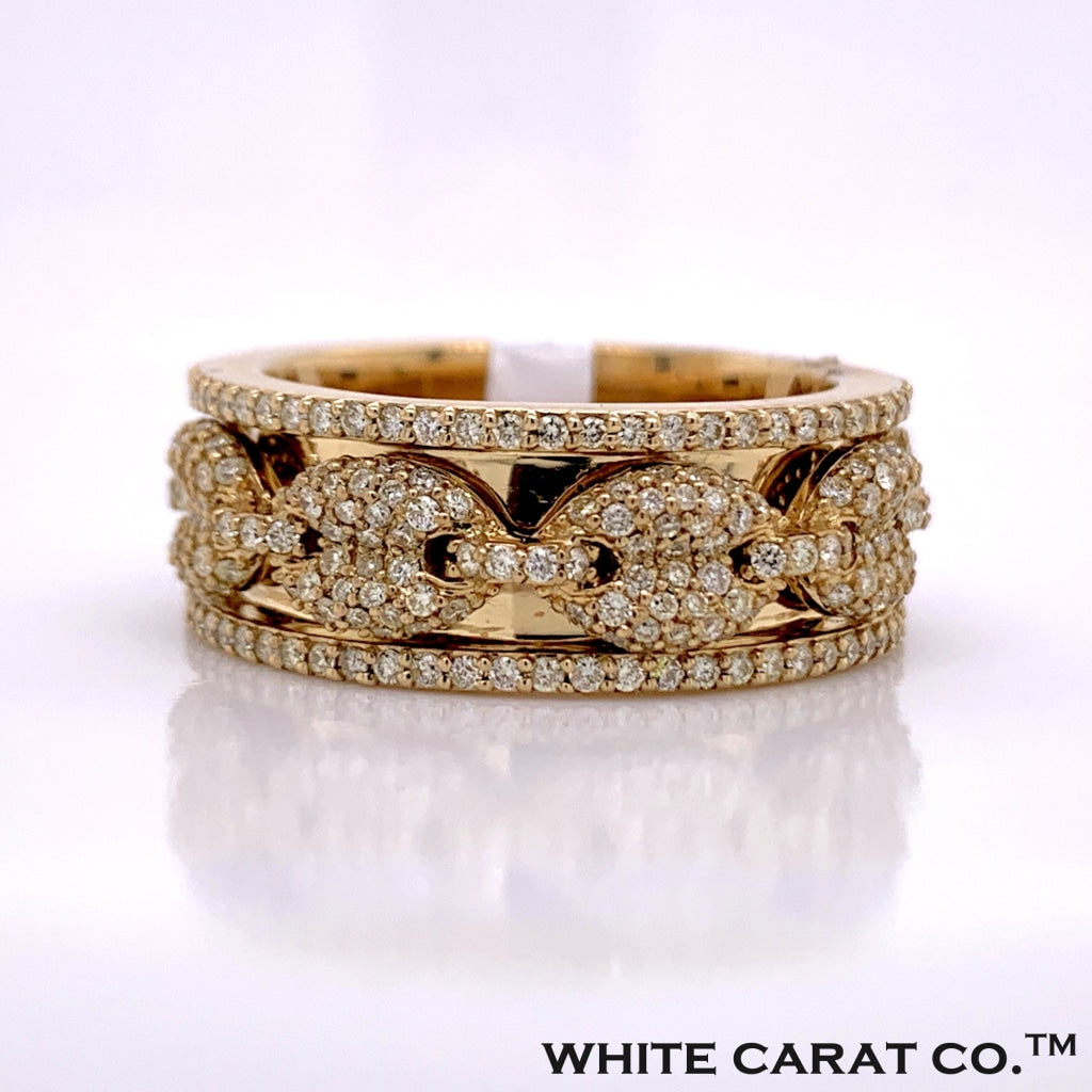 2.50CT Diamond 10K Gold Ring - White Carat Diamonds