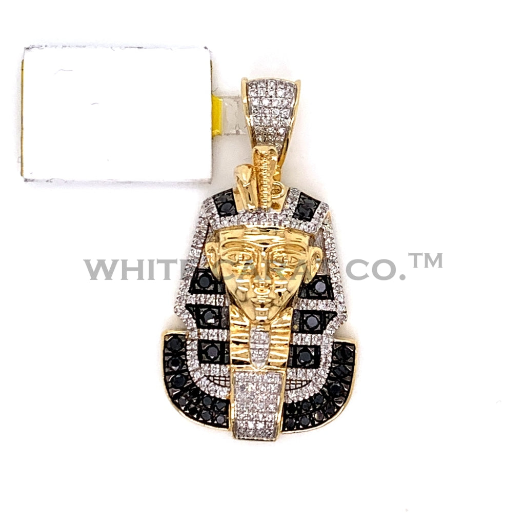 0.81CT Diamond Pharaoh Pendant in 10K Gold - White Carat Diamonds
