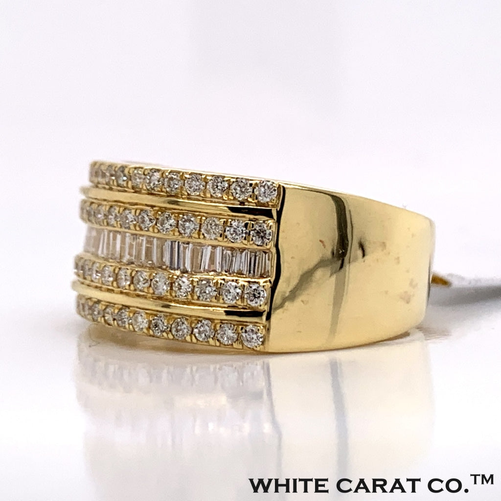 1.02CT Diamond 10K Gold Ring - White Carat Diamonds