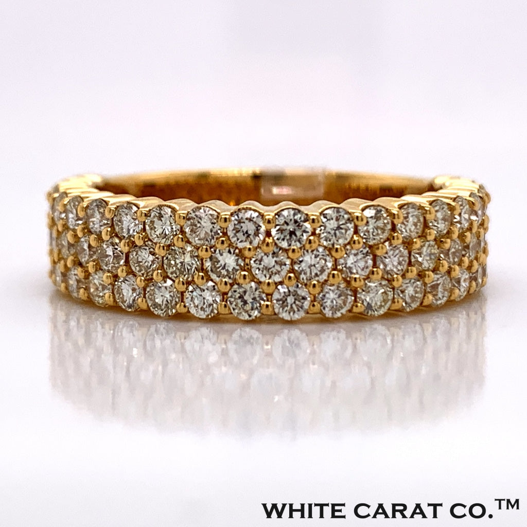 2.00CT Diamond Ring in 10K Gold Band Style - White Carat Diamonds
