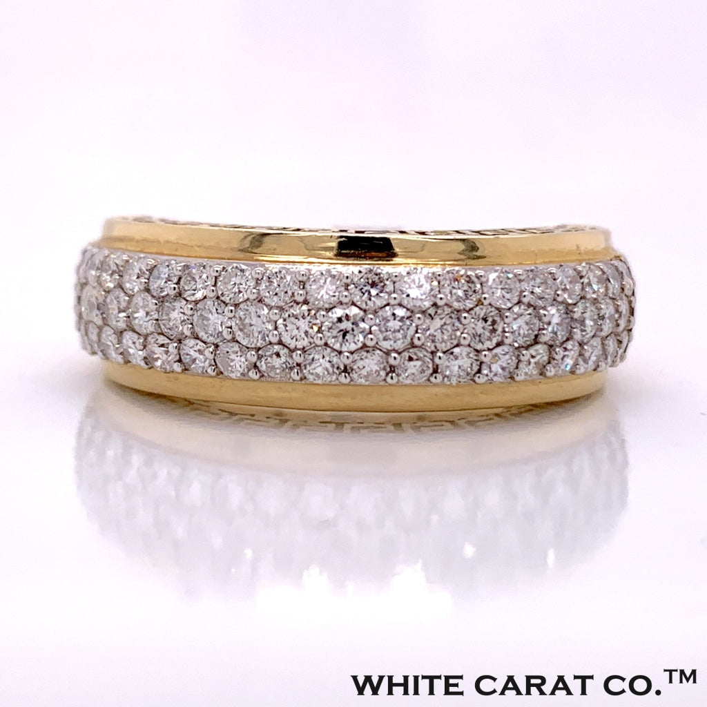1.41 CT. Diamond Band in 10K Gold - White Carat Diamonds