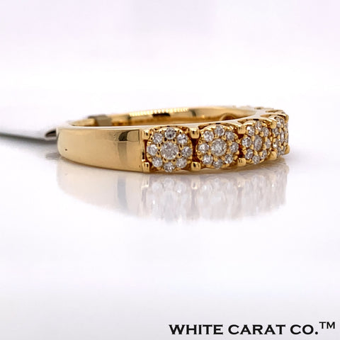 Diamond Ring in 14K Gold - White Carat Diamonds