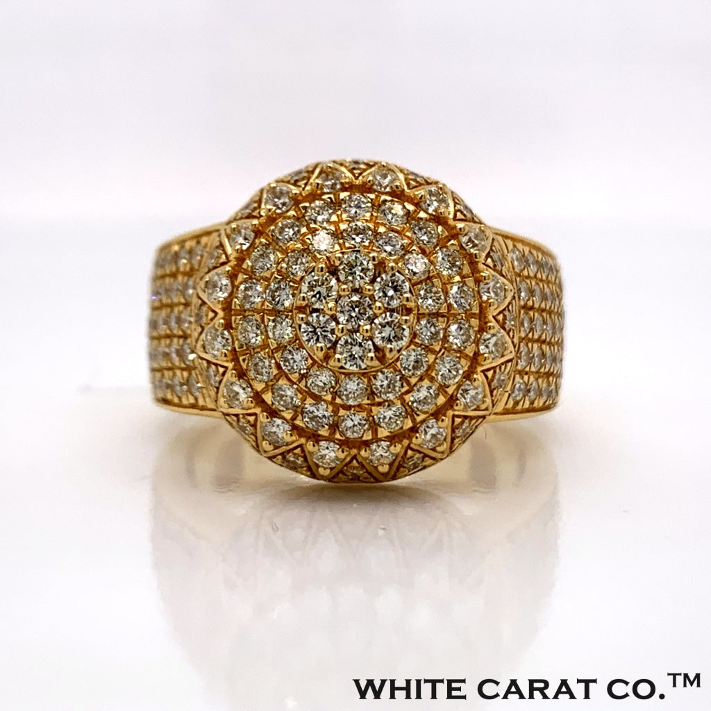 2.32CT Diamond Ring in 10K Gold - White Carat Diamonds