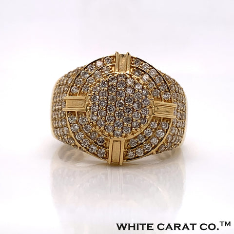 1.50CT Diamond Ring in 10K Gold - White Carat Diamonds