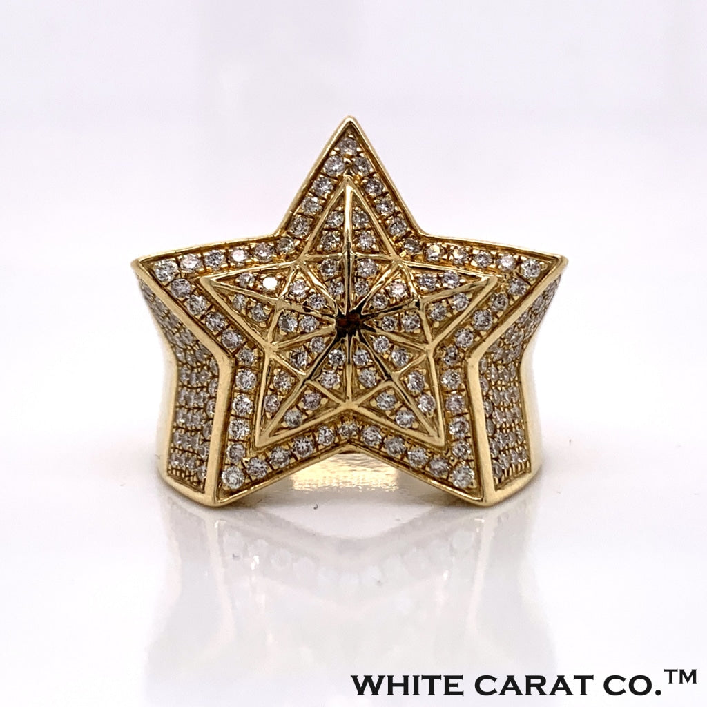 1.65CT Diamond Ring in 10K Gold - White Carat Diamonds
