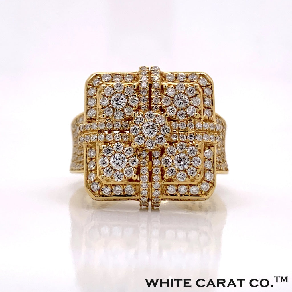 1.98CT Diamond Ring in 10K Gold - White Carat Diamonds