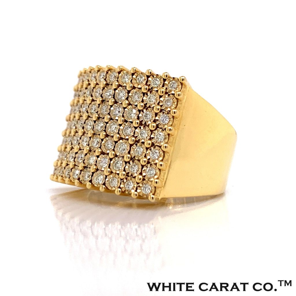 1.04CT Diamond Ring in 10K Gold - White Carat Diamonds