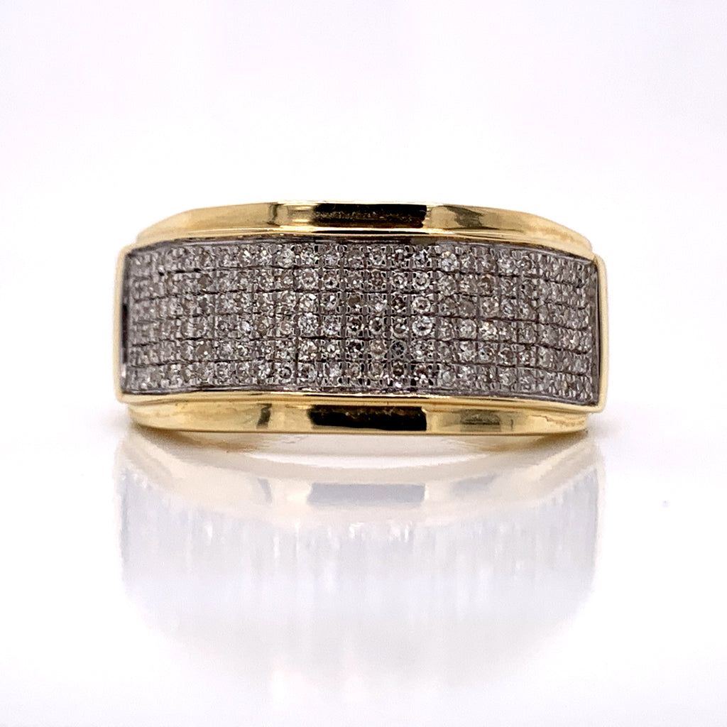 0.33CT Diamond Ring in 10K Gold - White Carat Diamonds