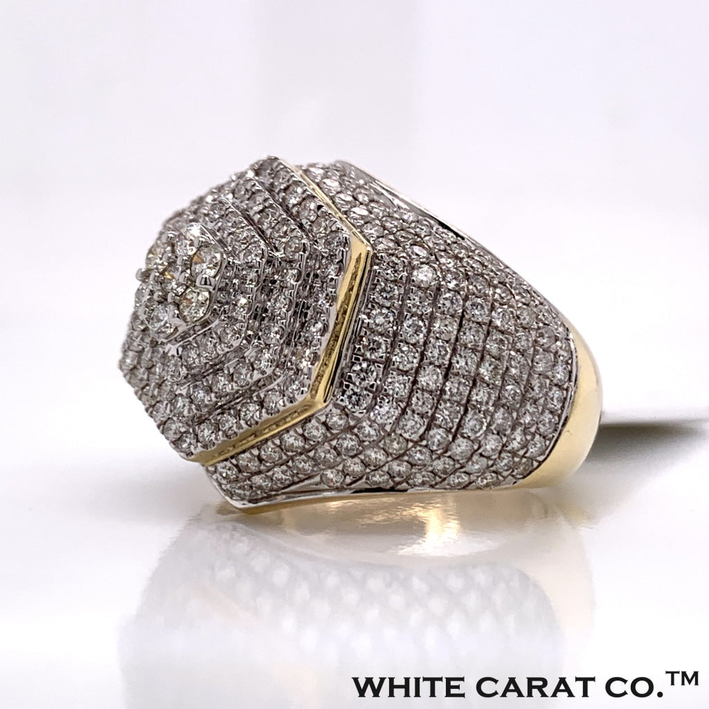 3.47 CT. Diamond Ring in 10K Gold - White Carat Diamonds